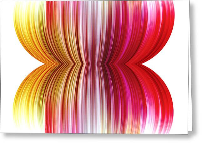 Red Wallpaper Greeting Cards - Abstract background Greeting Card by Blink Images