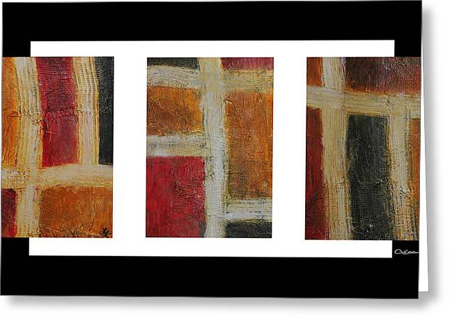 Xoanxo Digital Art Greeting Cards - Abstract Collage 1 Greeting Card by Xoanxo Cespon