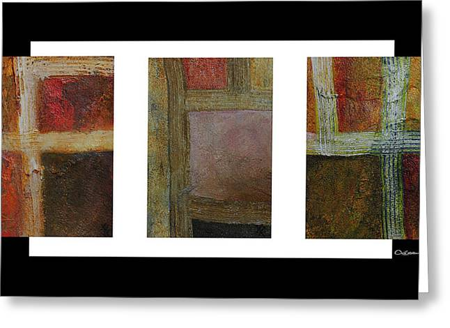 Xoanxo Digital Art Greeting Cards - Abstract Collage 2 Greeting Card by Xoanxo Cespon