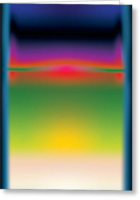 Rothko Greeting Cards - Abstract Color  Greeting Card by Gary Grayson