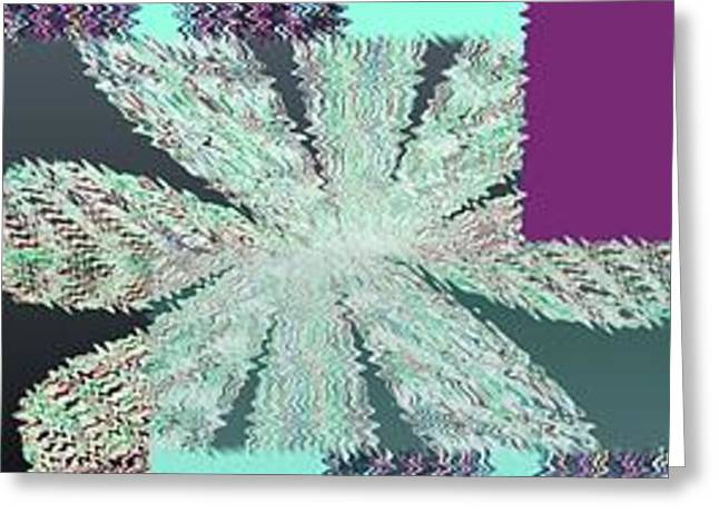 Abstract Fusion 149 Greeting Card by Will Borden