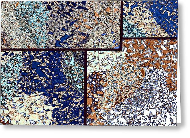 Abstract Fusion 95 Greeting Card by Will Borden