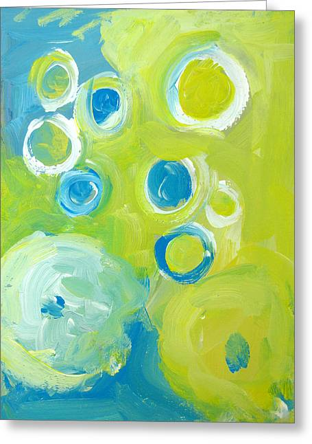 Abstract IIII Greeting Card by Patricia Awapara