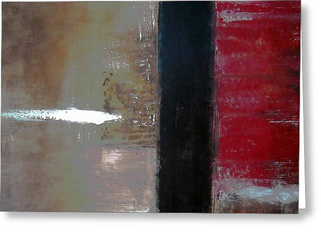 Ageless Greeting Cards - Abstract Modern Art Ageless Iii Greeting Card by Pristine Cartera Turkus