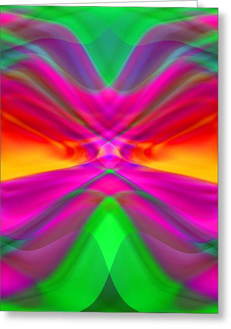 Abstract Digital Photographs Greeting Cards - Abstract Greeting Card by Pat Exum