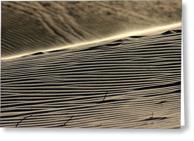Abstract Sand 2 Greeting Card by Arie Arik Chen