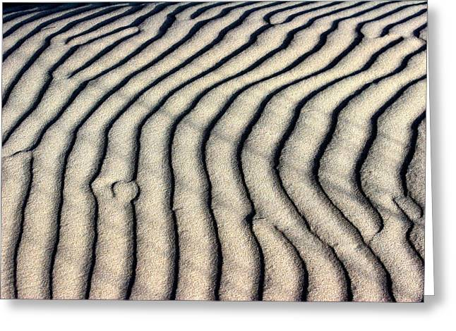 Arie Arik Chen Greeting Cards - Abstract Sand 5 Greeting Card by Arie Arik Chen