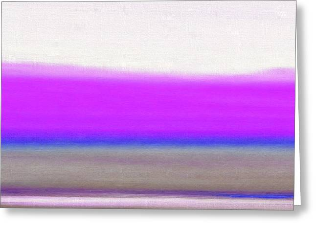 Abstract Sunset 65 Greeting Card by Gina De Gorna
