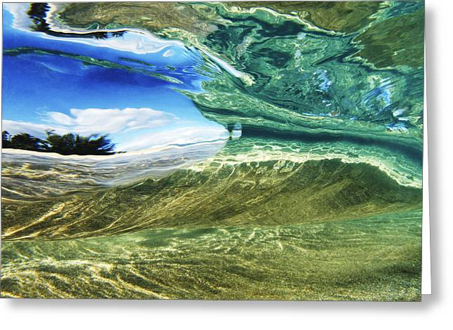 Vince Greeting Cards - Abstract Underwater 1 Greeting Card by Vince Cavataio - Printscapes