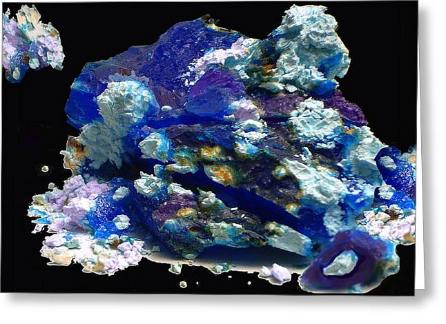 Carnegie Museum Greeting Cards - Abstraction 39 Greeting Card by Lynda Lehmann