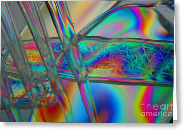 Crystal Nederman Greeting Cards - Abstraction in Color 2 Greeting Card by Crystal Nederman