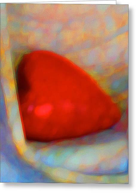 Greeting Card featuring the digital art Abundant Love by Richard Laeton