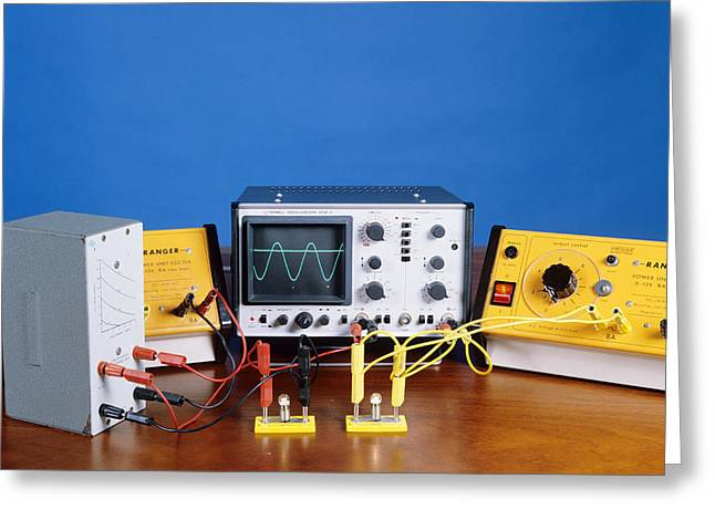 Direct Current Greeting Cards - Ac And Dc Power Supplies Greeting Card by Andrew Lambert Photography