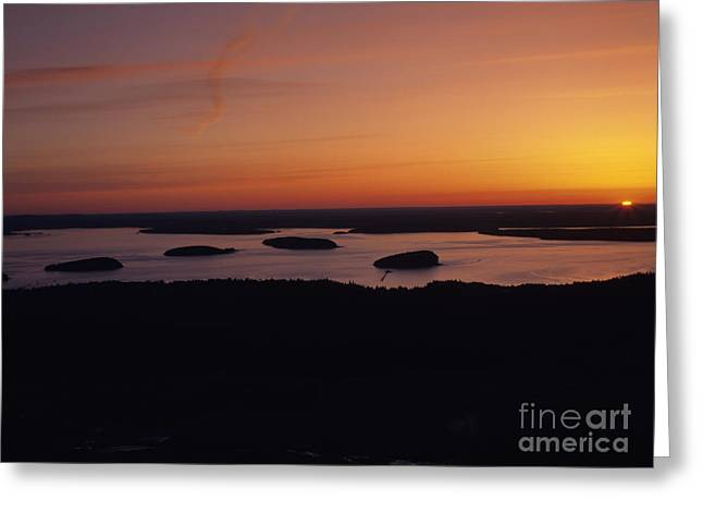 Vaction Greeting Cards - Acadia National Park - Maine USA Greeting Card by Erin Paul Donovan