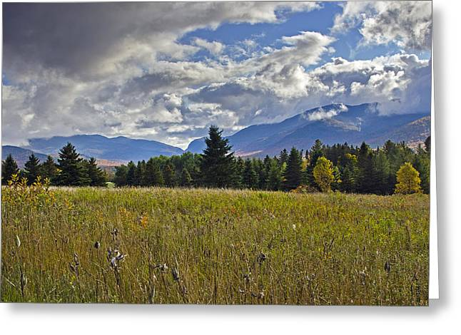 Hdr Landscape Greeting Cards - Adirondack High Peaks - New York HDR Greeting Card by Brendan Reals