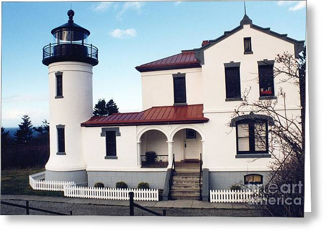 Whidbey Island Wa Greeting Cards - Admiralty Head Greeting Card by Bruce Borthwick