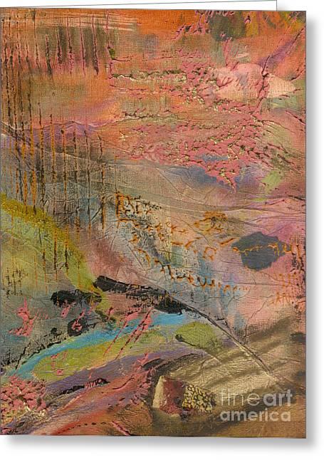 Grettings Greeting Cards - Admiring Gods Handiwork II Greeting Card by Angela L Walker