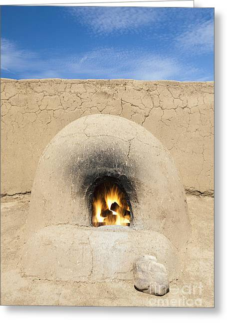 Adobe Greeting Cards - Adobe Oven Greeting Card by Bryan Mullennix