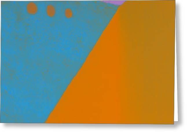 Adobe Walls Number 2 Greeting Card by Carol Leigh