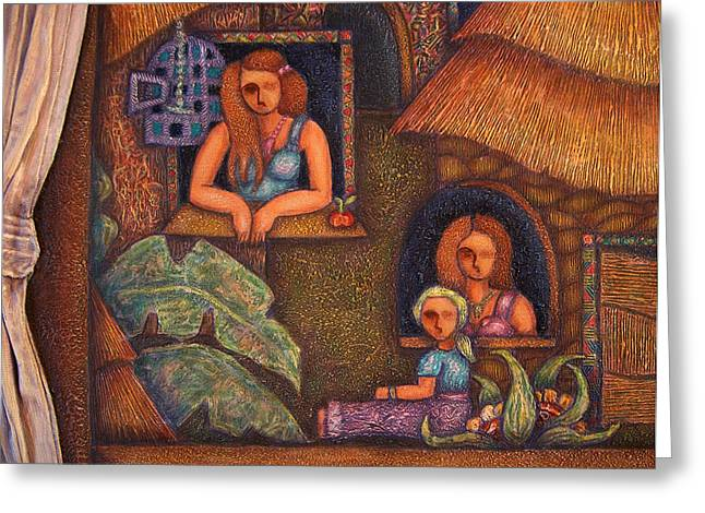 Madalena Lobao-tello Greeting Cards - Africa in my soul Greeting Card by Madalena Lobao-Tello