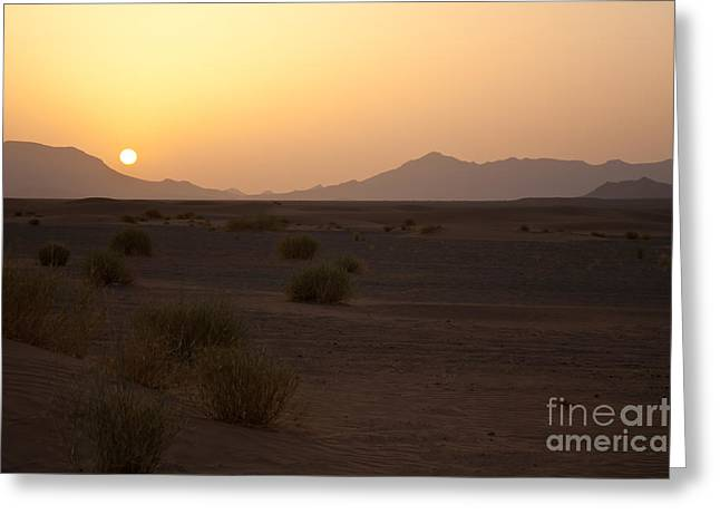 Nabucodonosor Perez Greeting Cards - African sun Greeting Card by Nabucodonosor Perez