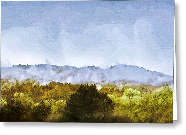 Larry Darnell Greeting Cards - After an Early Spring Storm Greeting Card by Larry Darnell