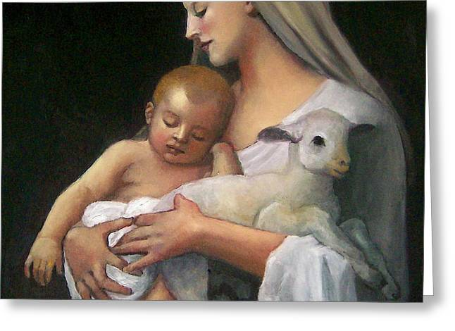 After Bouguereau Greeting Card by Joyce Geleynse
