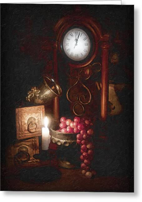 Chalice Greeting Cards - After Midnight Greeting Card by Tom Mc Nemar