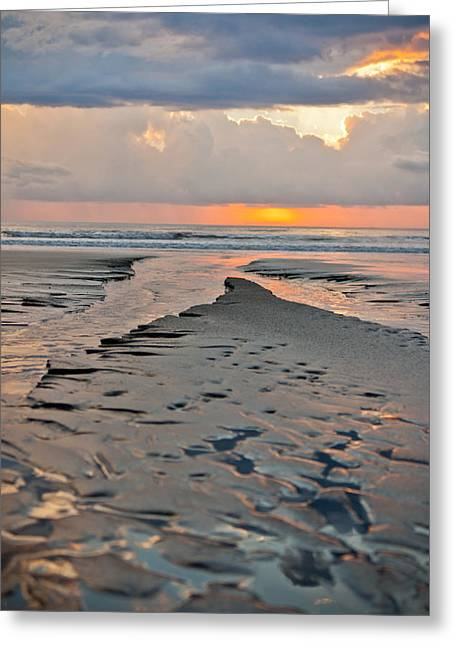 Costa Greeting Cards - After Storm Sunset Greeting Card by Anthony Doudt