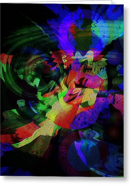 Subconscious Digital Art Greeting Cards - After Sunset Greeting Card by Mimulux patricia no