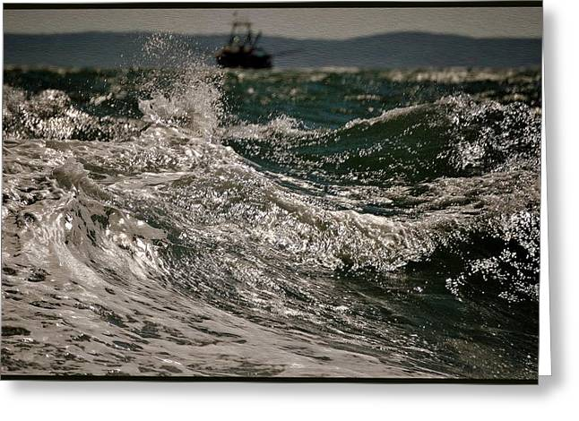 Perfect Storm Greeting Cards - After The Hurricane Greeting Card by Marysue Ryan
