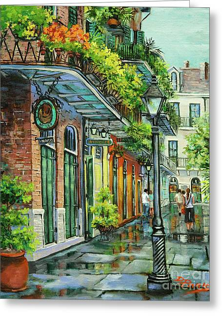 Royal Art Paintings Greeting Cards - After the Rain Greeting Card by Dianne Parks