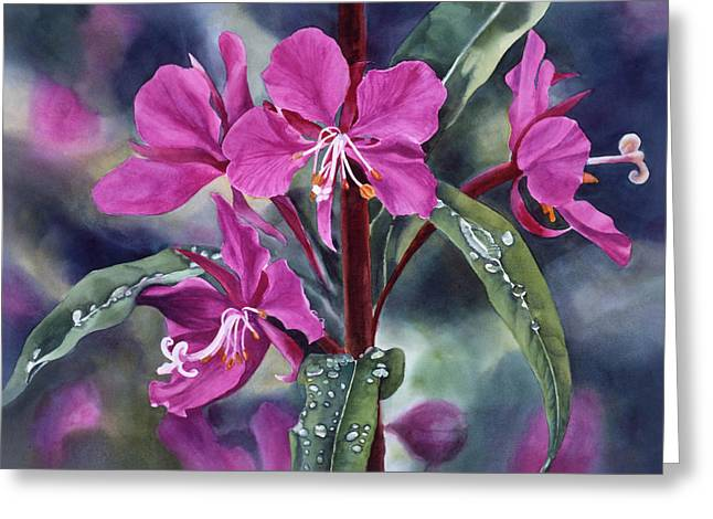Raindrop Greeting Cards - After the Rain Greeting Card by Sharon Freeman
