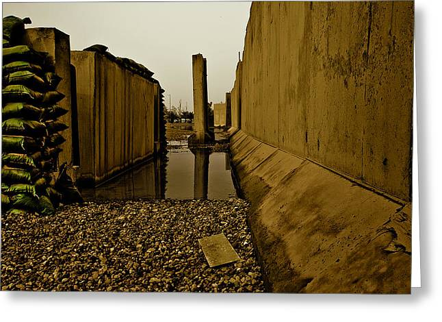 Baghdad Greeting Cards - After The Storm - Baghdad Iraq Greeting Card by Aaron Smalls