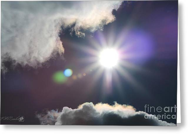 After the Storm Greeting Card by J McCombie