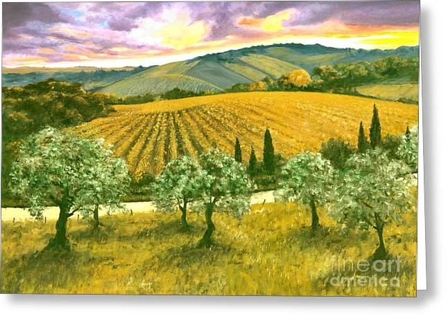 After The Storm Orig. For Sale Greeting Card by Michael Swanson