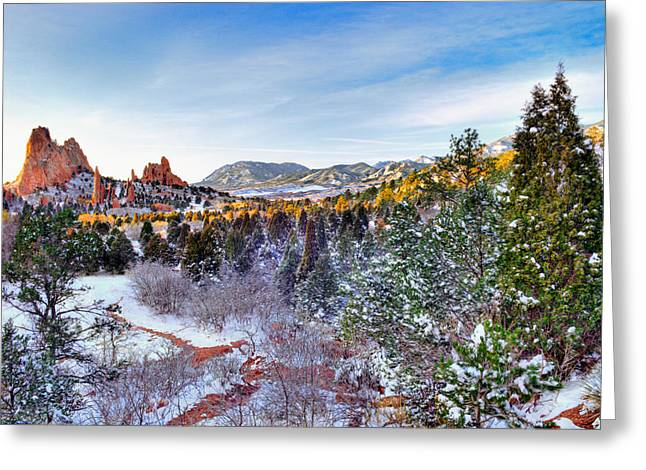 Colorado Scenic Greeting Cards - After the Storm Greeting Card by Tim Reaves