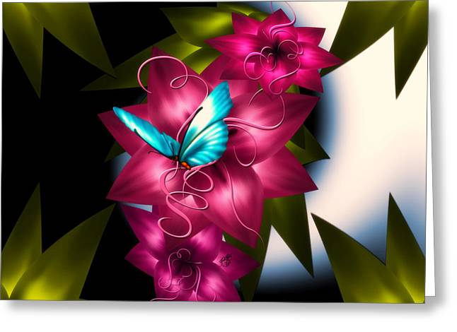 Digital Greeting Cards - Afternoon Delight Greeting Card by Karla White