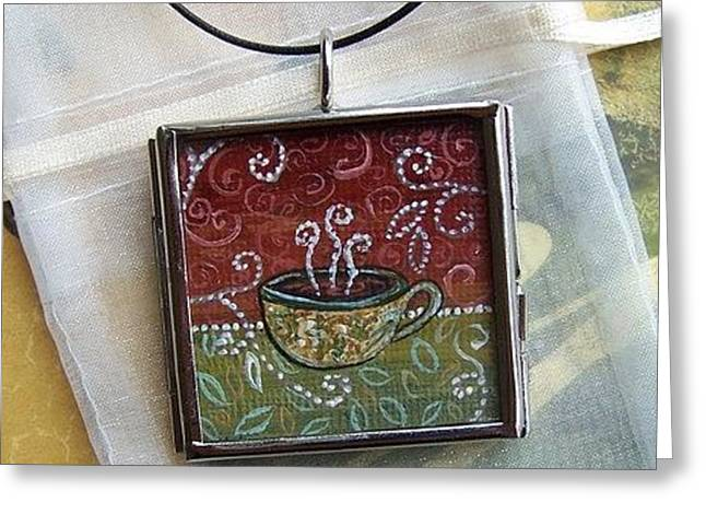 Sienna Jewelry Greeting Cards - Afternoon Getaway Greeting Card by Dana Marie