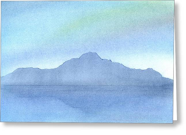 Serene Pastels Greeting Cards - Afternoon on the Water Greeting Card by Hakon Soreide
