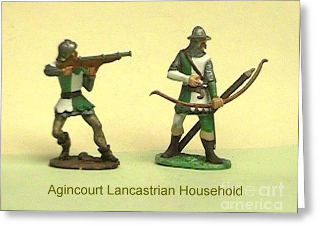 Collectors Toys Photographs Greeting Cards - Agencourt Lancastrian household Greeting Card by Valiant Knight