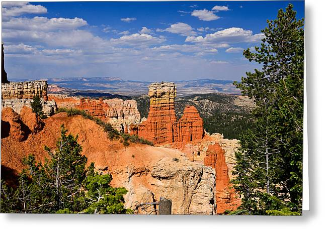 Agua Canyon Bryce Canyon National Park Greeting Card by Greg Norrell