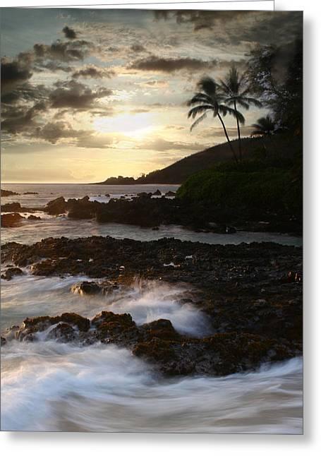 Pacific Ocean Prints Digital Art Greeting Cards - Ahe lau Makani O Paako Greeting Card by Sharon Mau