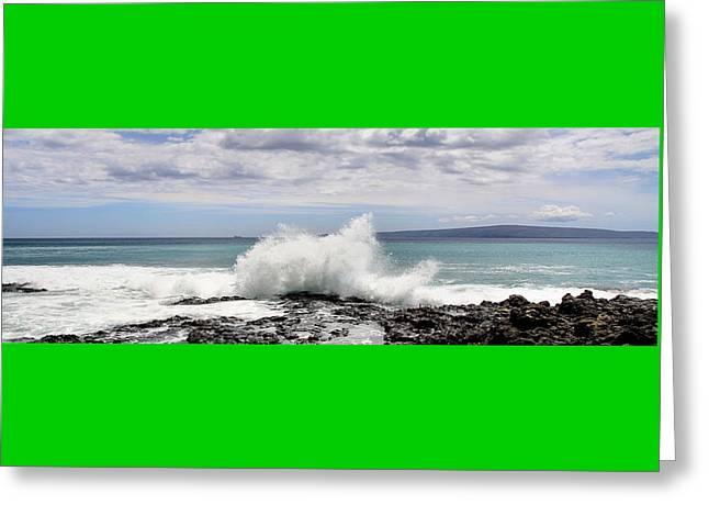 Djphoto Greeting Cards - Ahihi Cove Greeting Card by DJ Florek