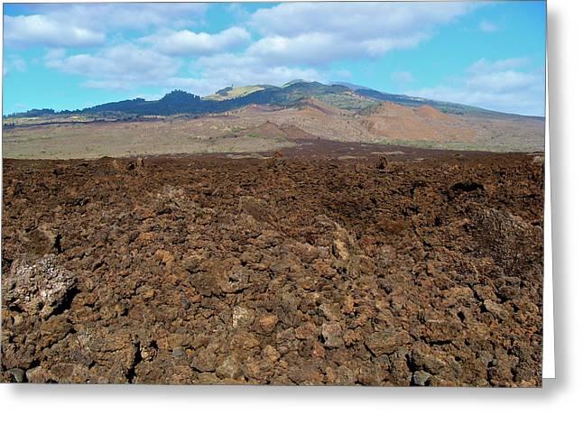 Ahihi-kinau Natural Area Reserve - Lava Flow - Maui Greeting Card by Karon Melillo DeVega