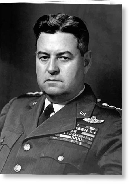 Aviator Greeting Cards - Air Force General Curtis Lemay  Greeting Card by War Is Hell Store