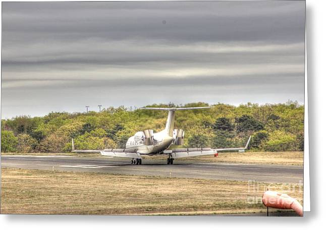Hdr Photo Greeting Cards - Airplane Air Brakes ON Greeting Card by Pictures HDR