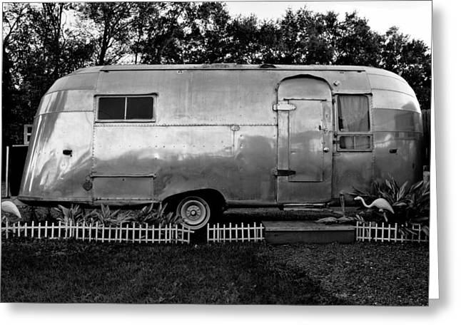 Trailer Park Greeting Cards - Airstream Life Greeting Card by David Lee Thompson