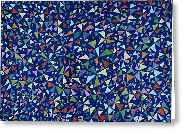 Abstract Movement Greeting Cards - Al a Carte Greeting Card by Lesa Weller