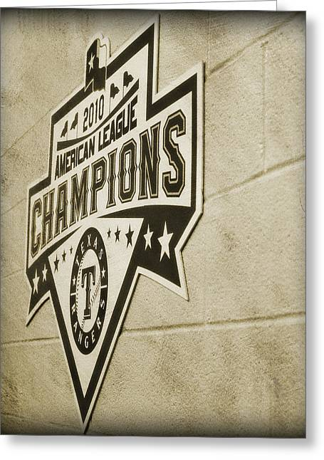 Al Champs  Greeting Card by Malania Hammer